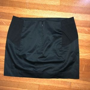 BCBGMaxAzria Black Mini Skirt Size S